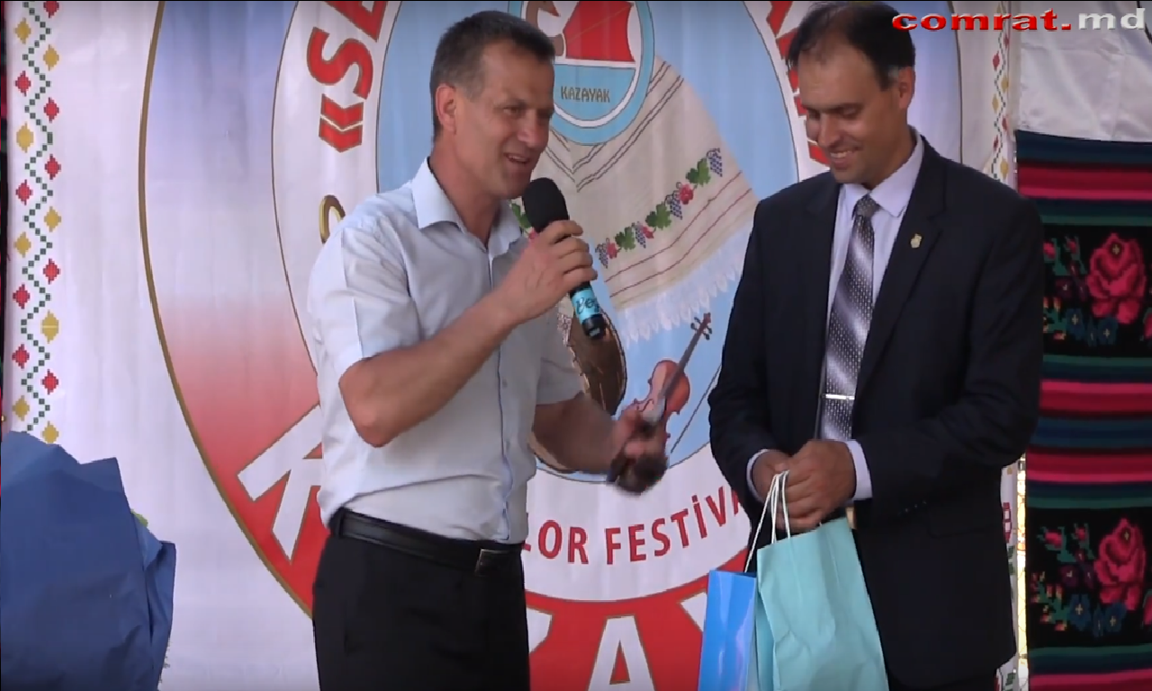 Руководители Комрата приняли участие в открытии парка «Dostluk» в Казаклии