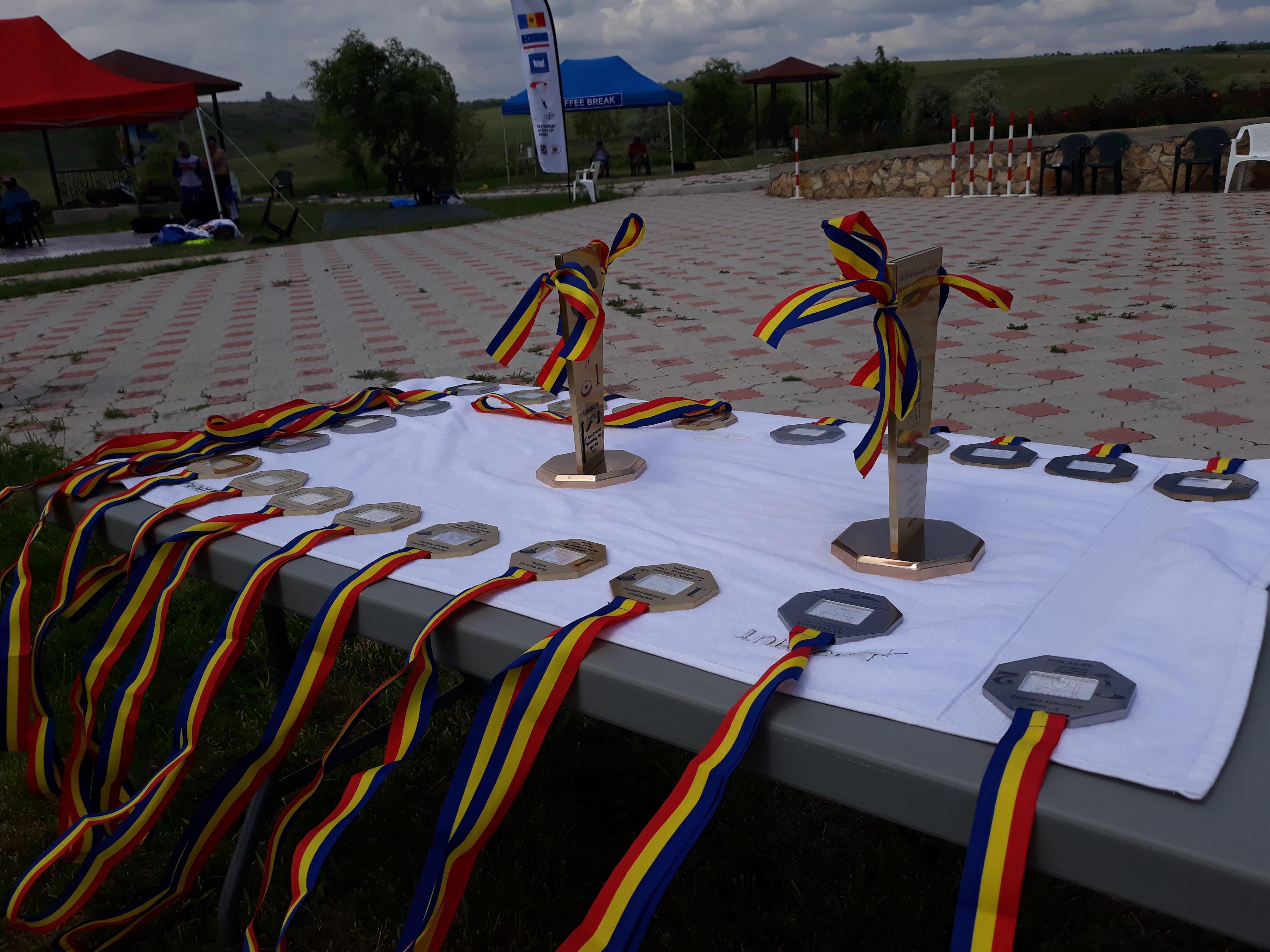 В с.Авдарма проходят международные соревнования по парашютному спорту