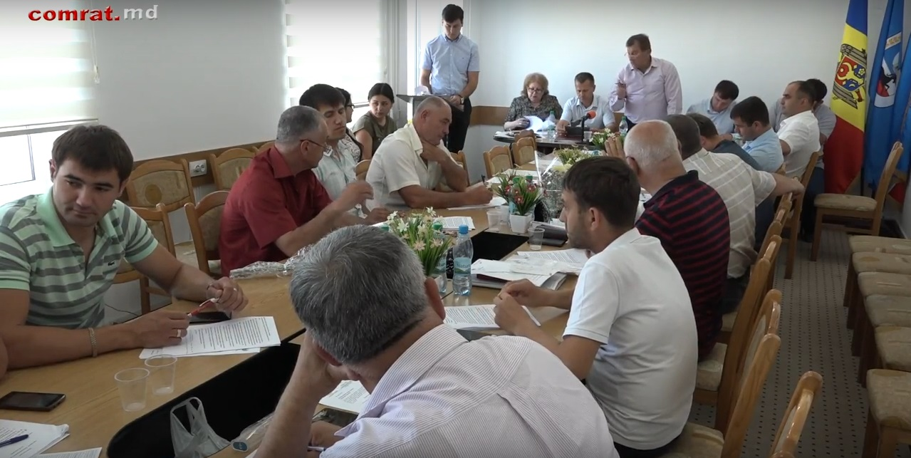 Заседание муниципального совета м.Комрат от 25.05.2018г (видео)