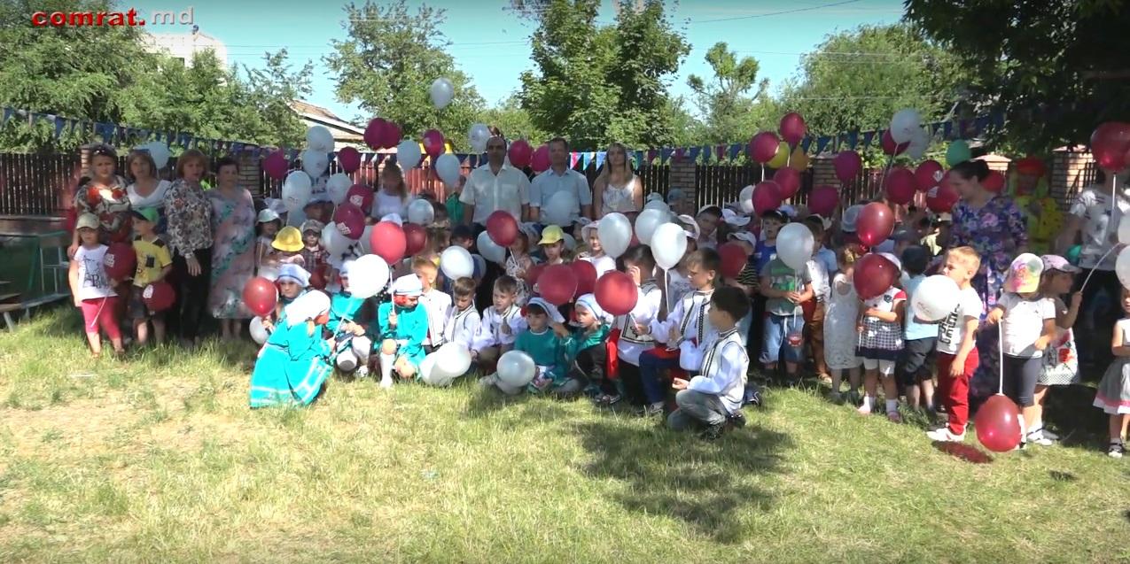 В детском саду №7 м.Комрат отметили окончание учебного года и начало лета