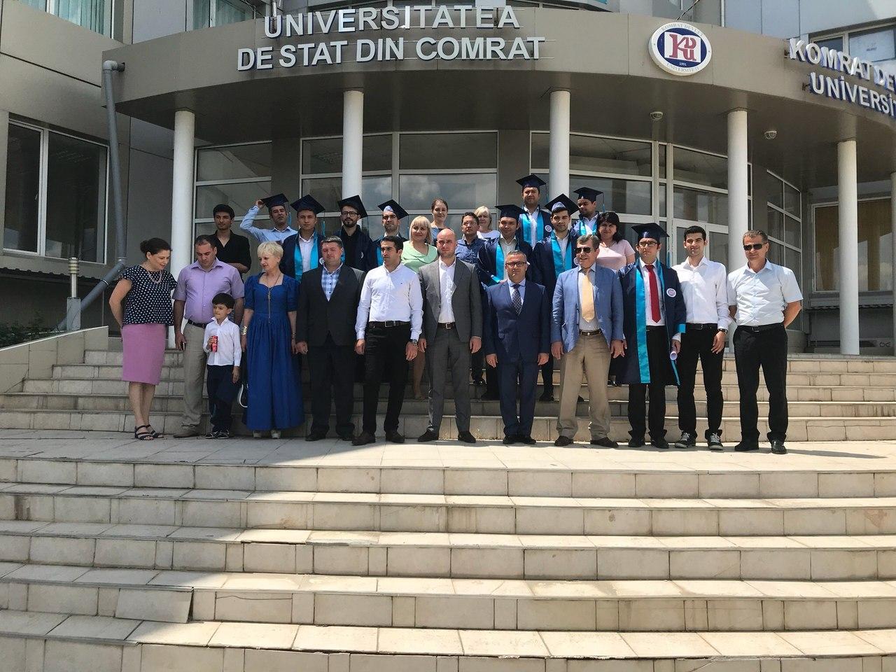 Сергей Анастасов принял участие в церемонии вручения дипломов КГУ студентам из Республики Турция