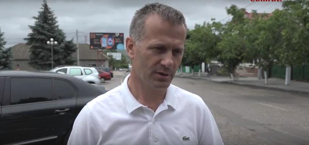 Сергей Анастасов о последствиях сильного ливня в Комрате 22 июня 2018г