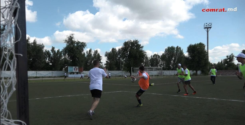 В Комрате состоялся первый футбольный турнир среди команд Fujikura