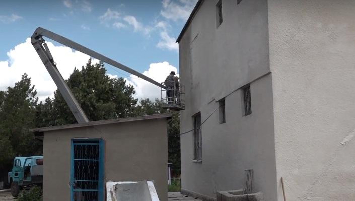 В детском саду №9 м.Комрат ведутся ремонтные работы